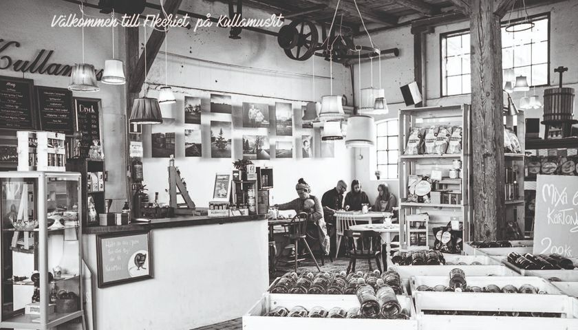 Fikeriet på Kullamust, mysigt och annorlunda café i Kullabygden