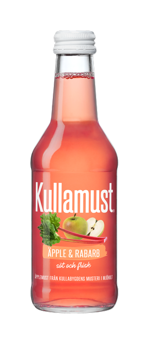 Kullamust Äpple & Rabarb 250ml