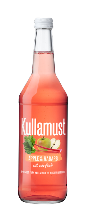 Kullamust Äpple & Rabarb 630ml