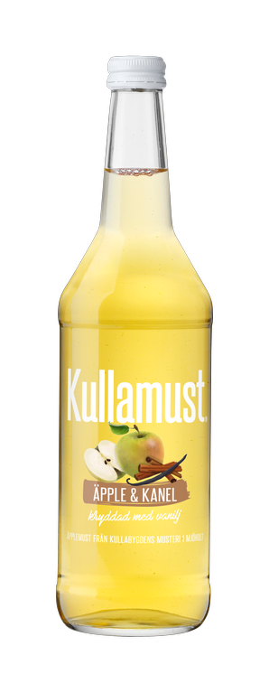 Kullamust Äpple & Kanel 630ml