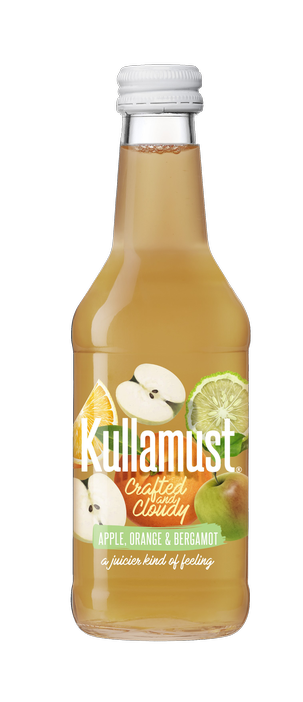 Kullamust Crafted & Cloudy Apple, Orange, Bergamot 250ml