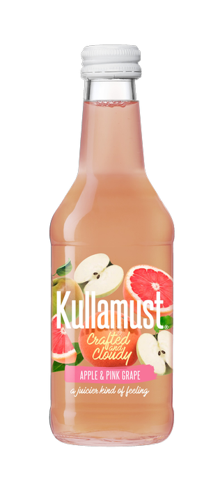 Kullamust Crafted & Cloudy Apple, Pink Grape 250ml