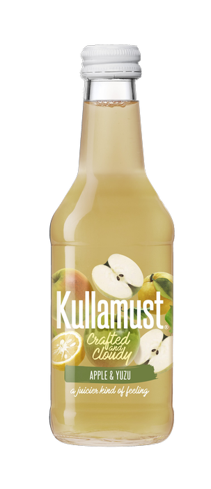 Kullamust Crafted & Cloudy Apple, Yuzu 250ml