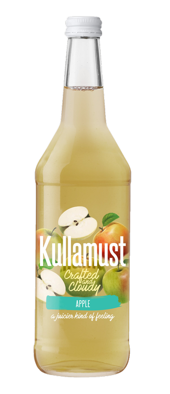 Kullamust Crafted & Cloudy Apple 630ml