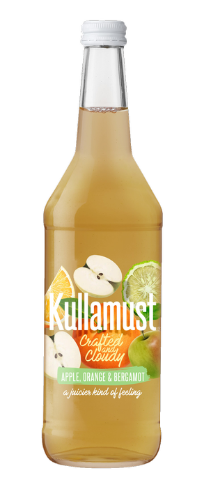 Kullamust Crafted & Cloudy Apple, Orange, Bergamot 630ml